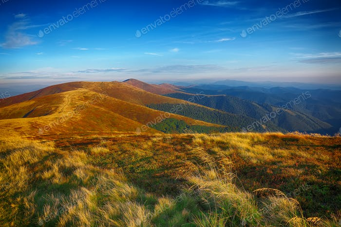 Beautiful landscape in the mountain