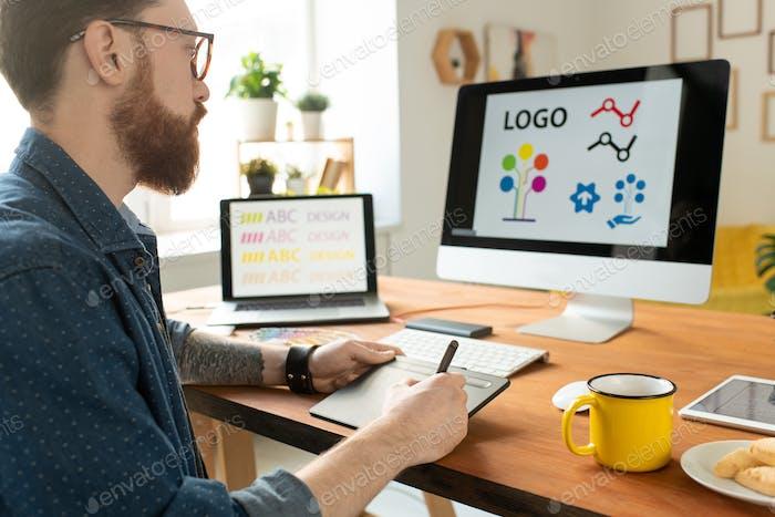Trabajar en Gráficos de sitios web