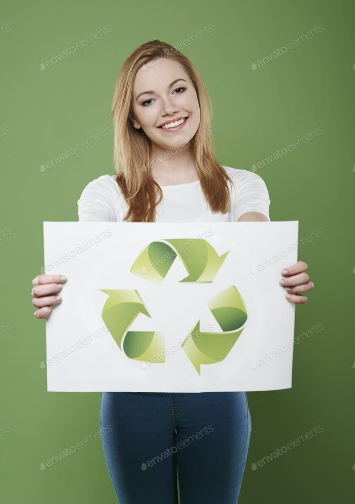 Don't forget about recycling of your waste