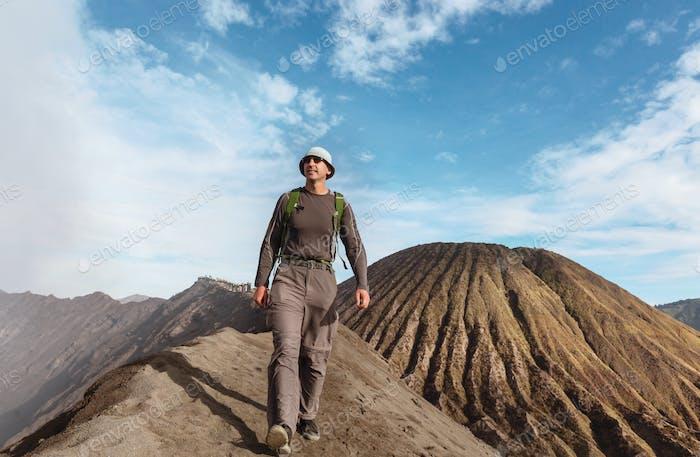 Hike in Bromo