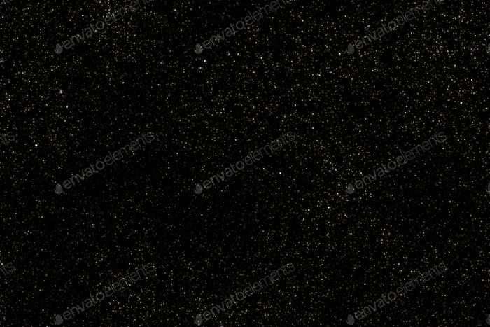 Starry night sky background illustration