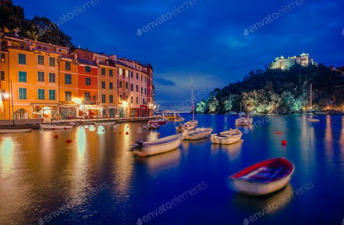 Portofino and Castello Brown