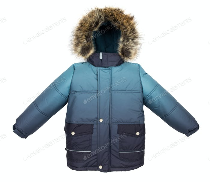 Warm jacket isolated