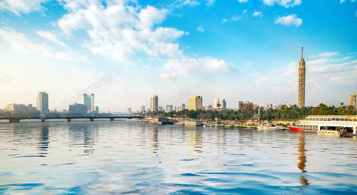 Panorama of the Nile