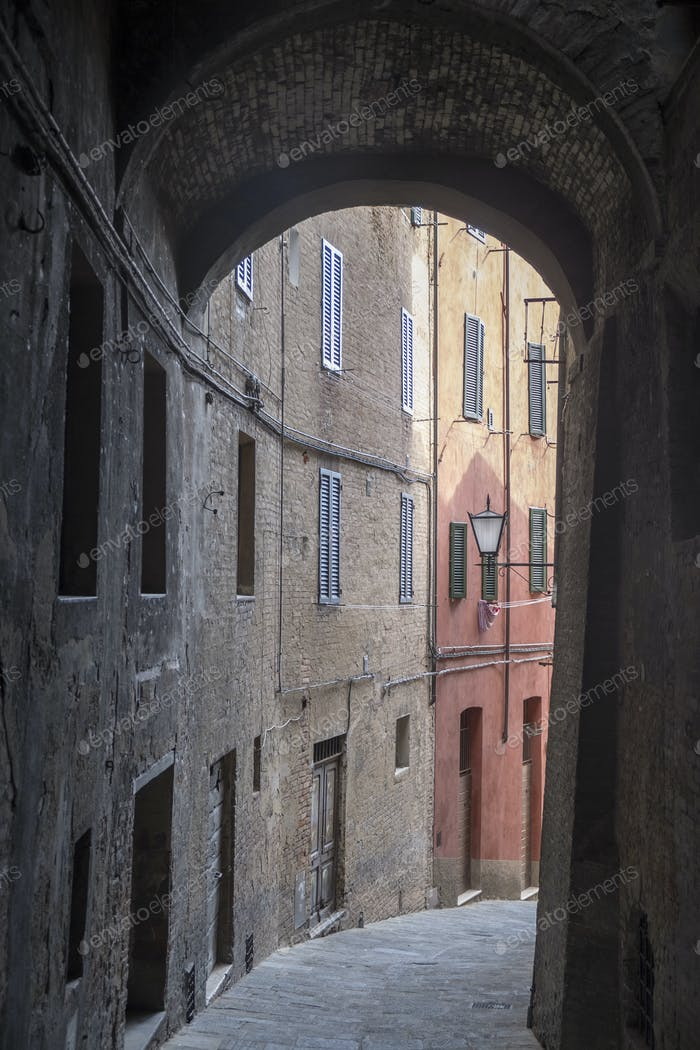 Siena, Italy: historic buildings