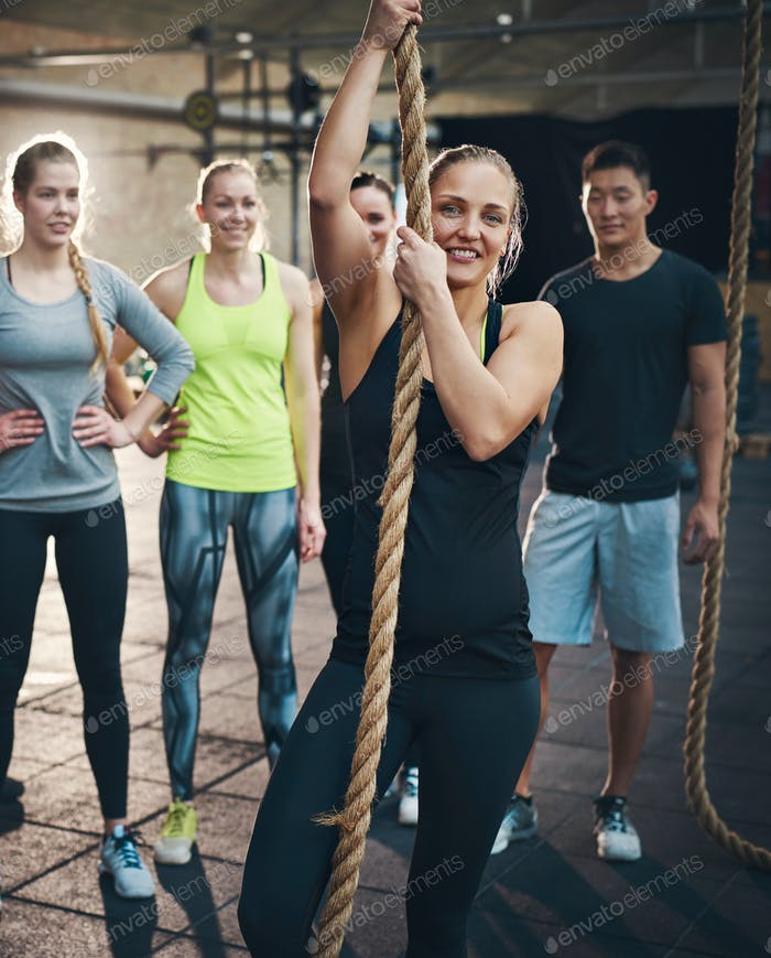 Getting fit takes a positive attitude