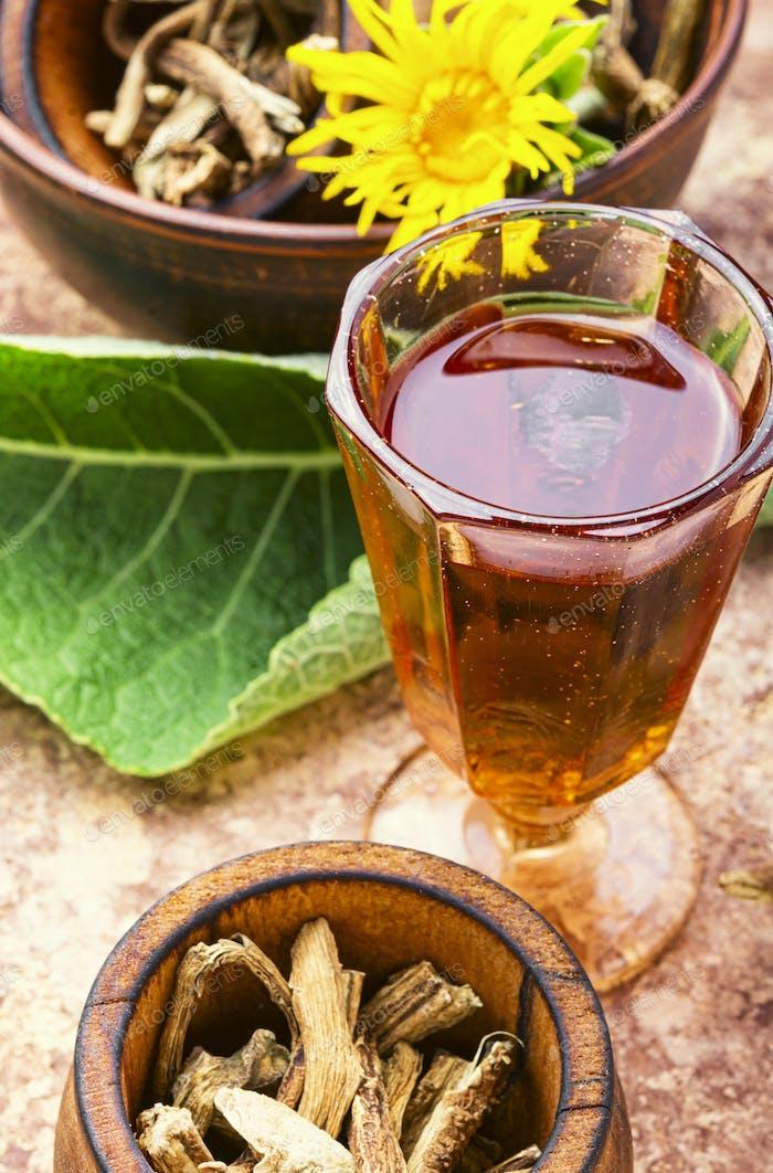 Healing plant inula