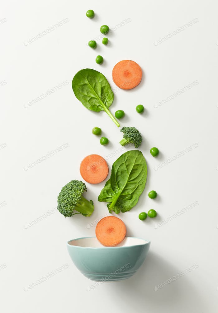 bowl of healthy vegetables