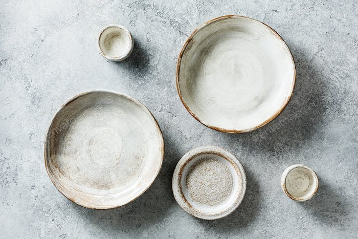 Tableware set of ceramic