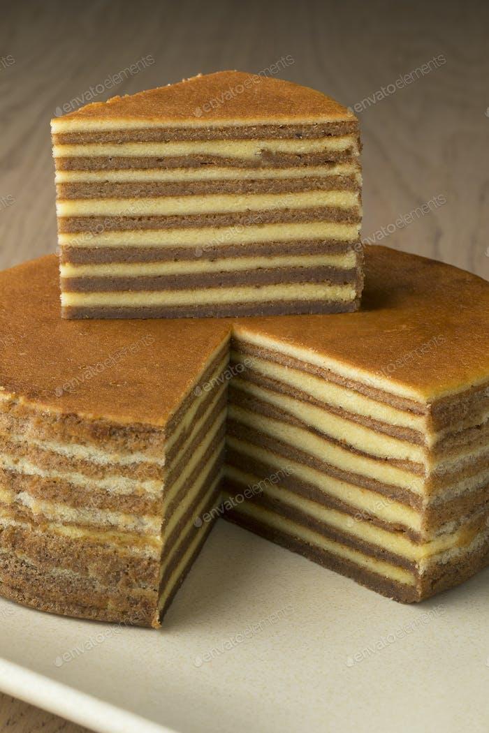 Asian homemade layer cake