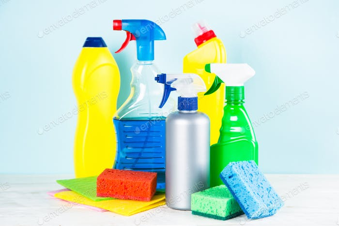 Cleaning product, household