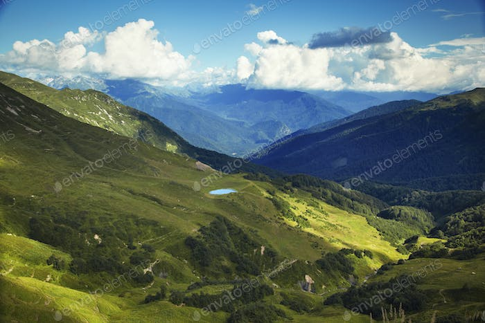Caucasus mountains. Abkhazia