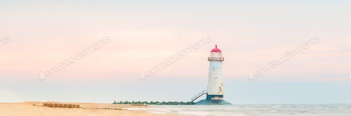 Ayr Lighthouse or the Talacre Lighthouse