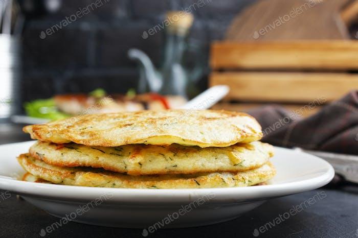 vagetable pancakes