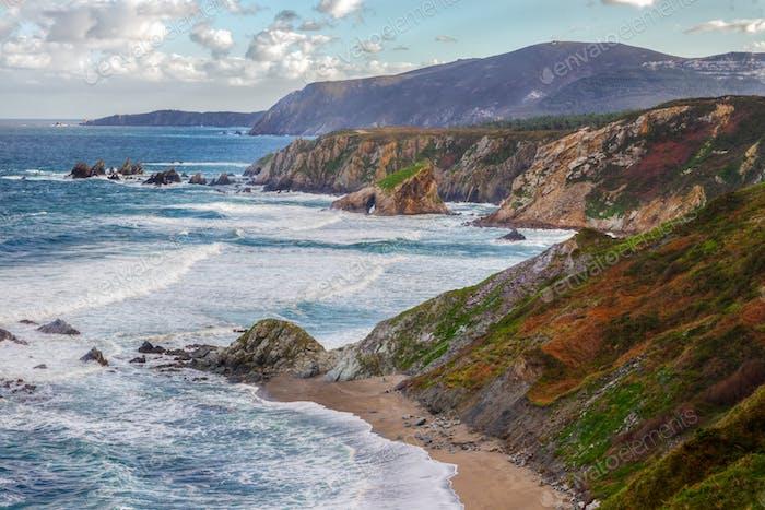 Cantabrian coast craggy