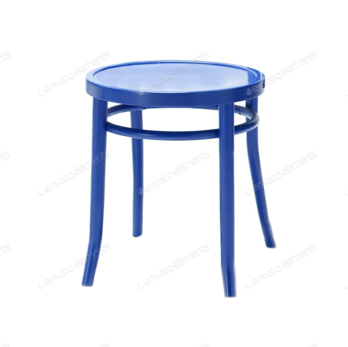 Stool isolated
