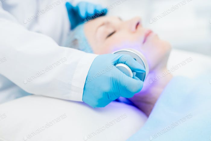 Beauty care with electric device