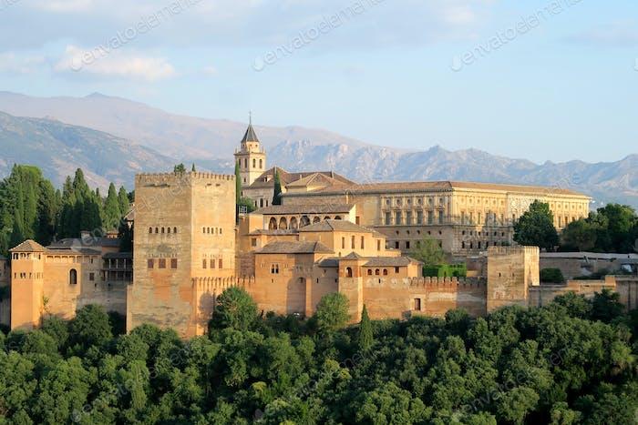 Schloss der Alhambra in Granada, Spanien