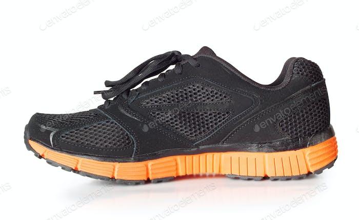 Sportliche schwarze Sneakers