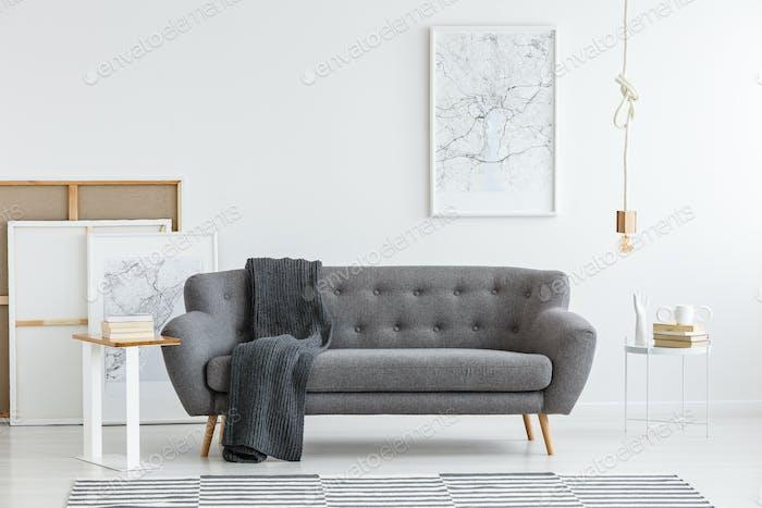 Scandi living room interior