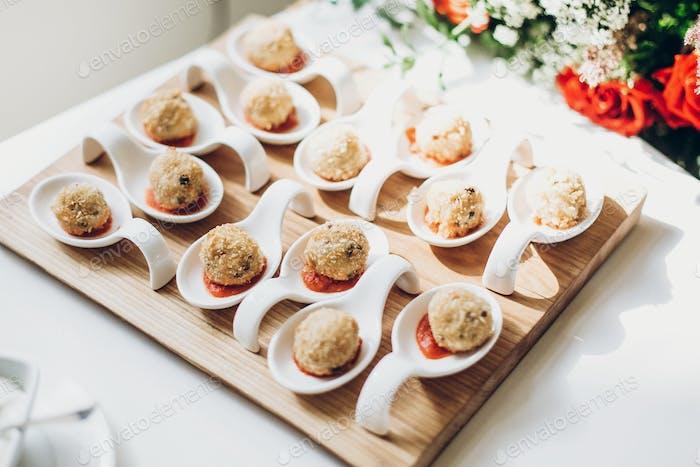 Luxury catering