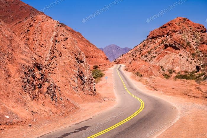Mountain Road to Cafayate