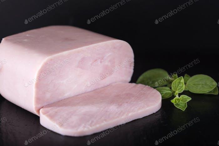 bloque de jamón de pavo