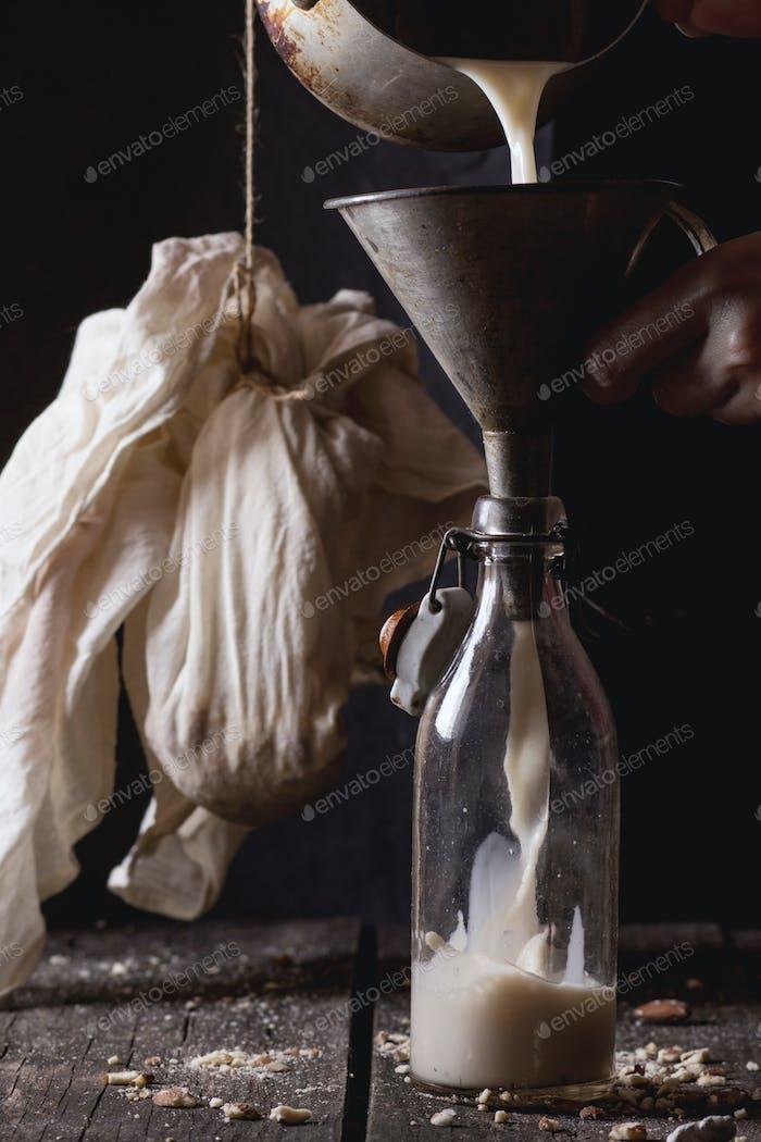 Thumbnail for Non-dairy almond milk