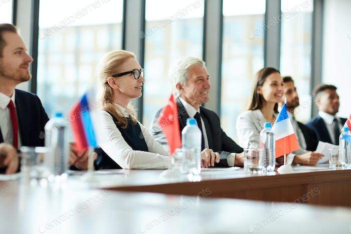 Foreign participants