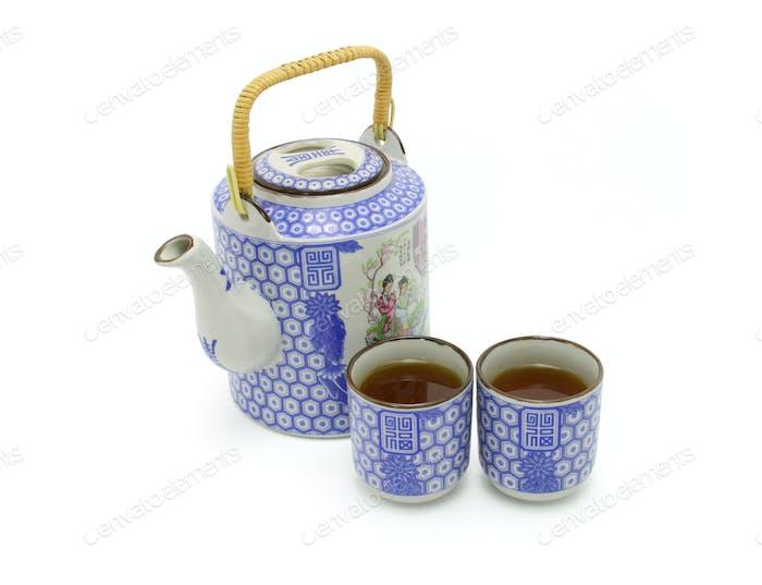 Chinese prosperity tea set