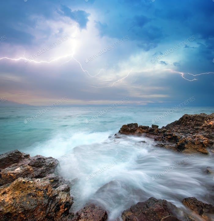 Schöne Meereslandschaft