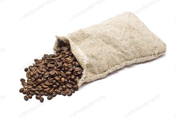 Sack mit Kaffeebohne