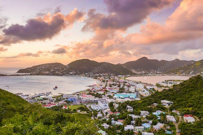 Philipsburg, Sint Maarten, Niederländische Antillen.