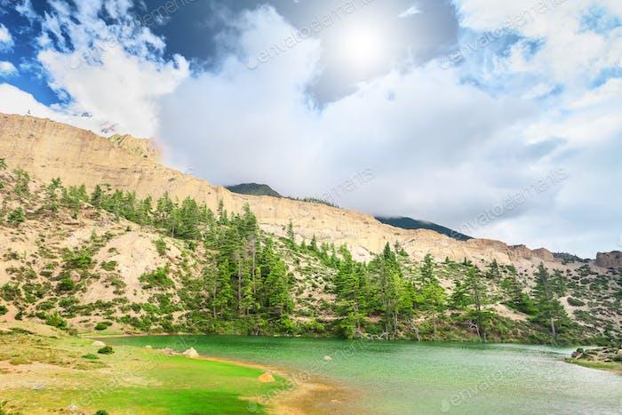 Beautiful mountain landscape