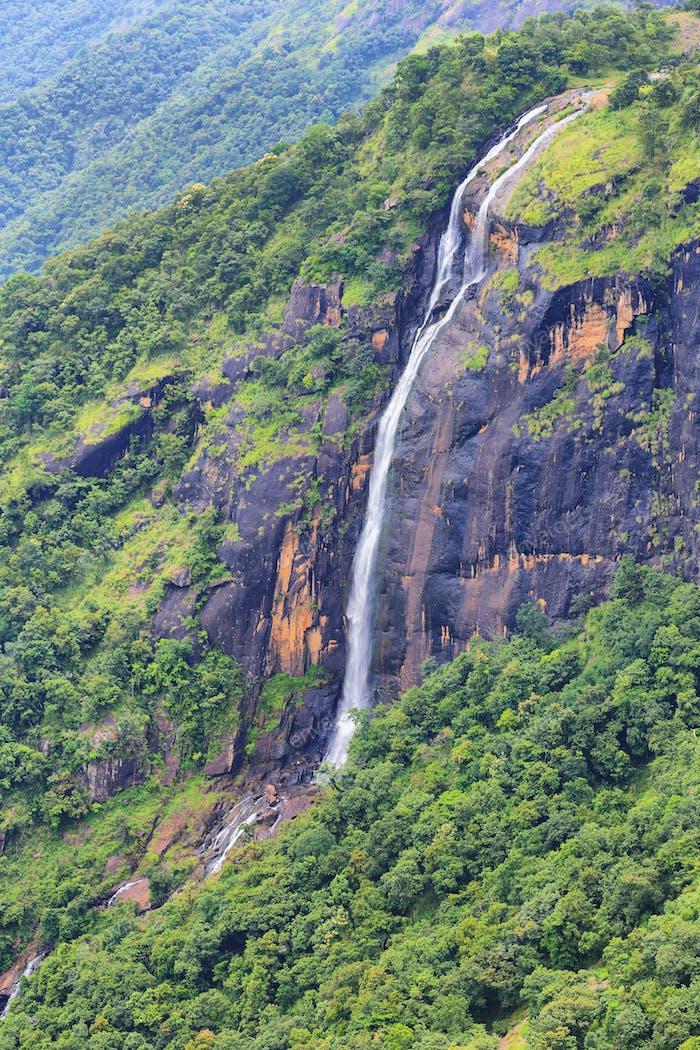 Chellarcovil waterfalls near Thekkady, India