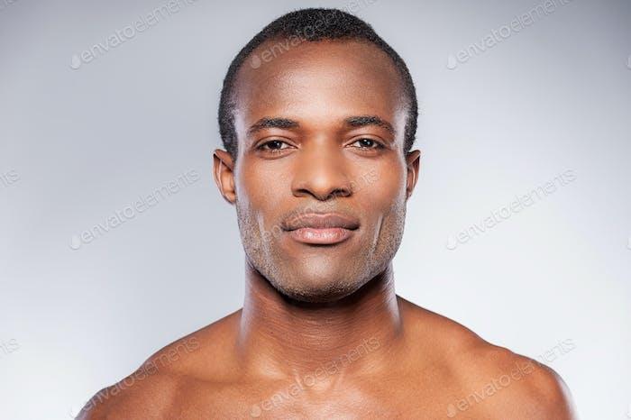 Portrait of masculinity.