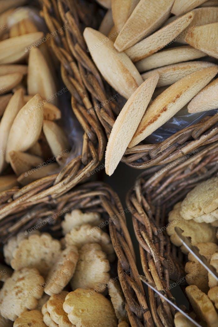 Kekse in Körben