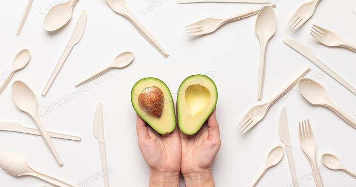 Avocado Samen alternative Variante für die Rettung Planeten