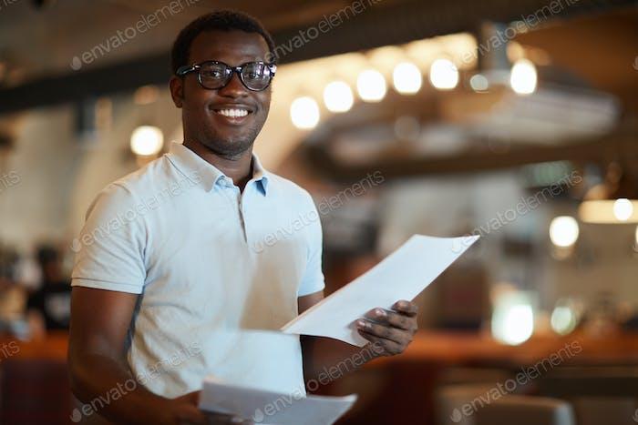 Мужской бухгалтер