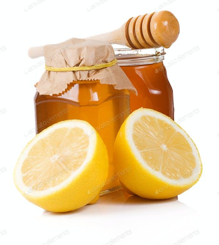 lemon andd honey