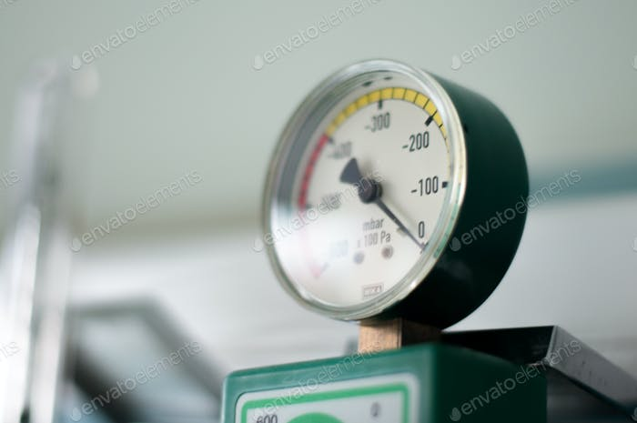 Pressure valve on medical supplies