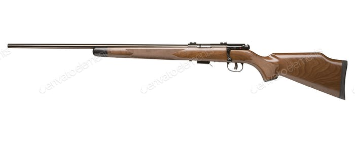 old hunting rifle