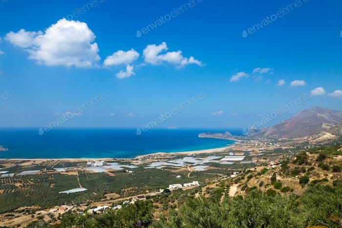 The bay of Falassarna