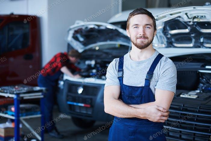 Successful repairman