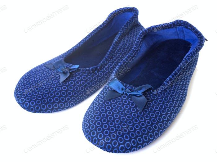 slippers in studio