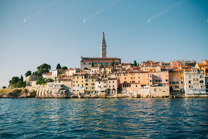 City of Rovinj, Croatia
