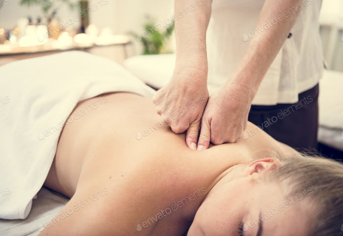 Spa Salon Therapie Behandlung