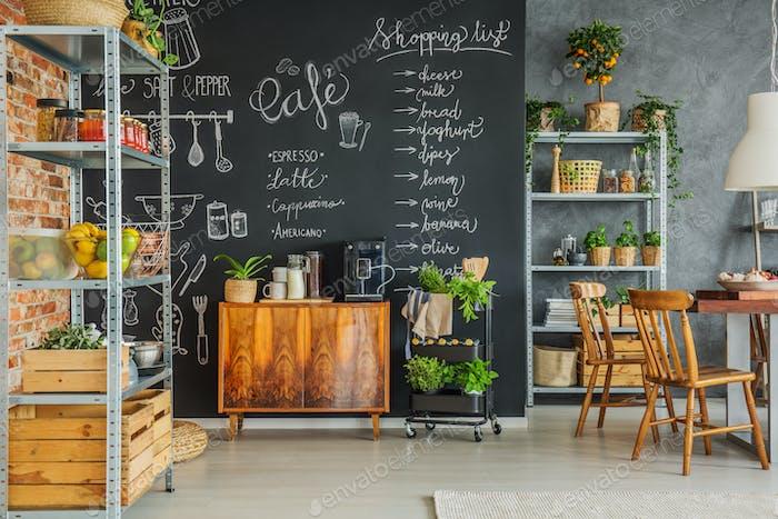Homey kitchen in the loft