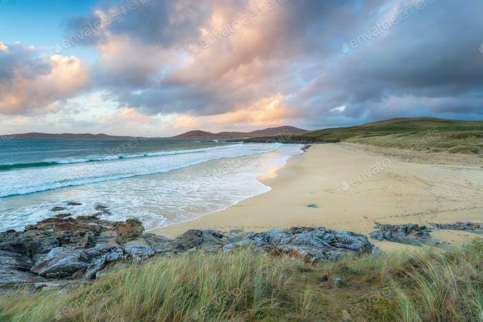 Traigh Lar Beach in the Western Isles