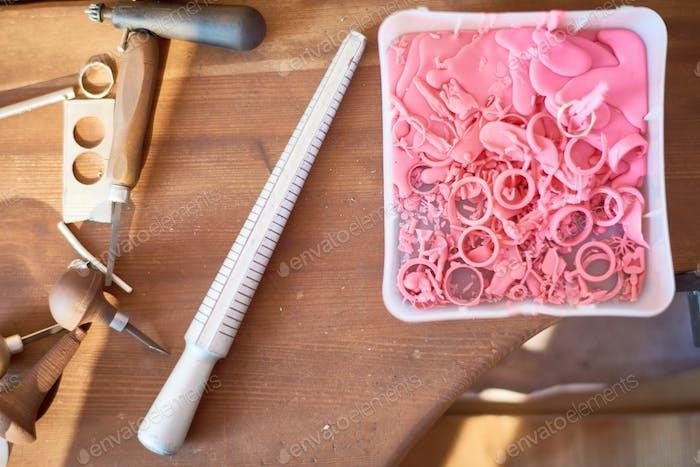 Jewelers Tools on Table